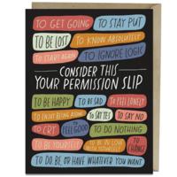 Card | Permission Slip