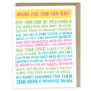 Card | New Baby Wishes