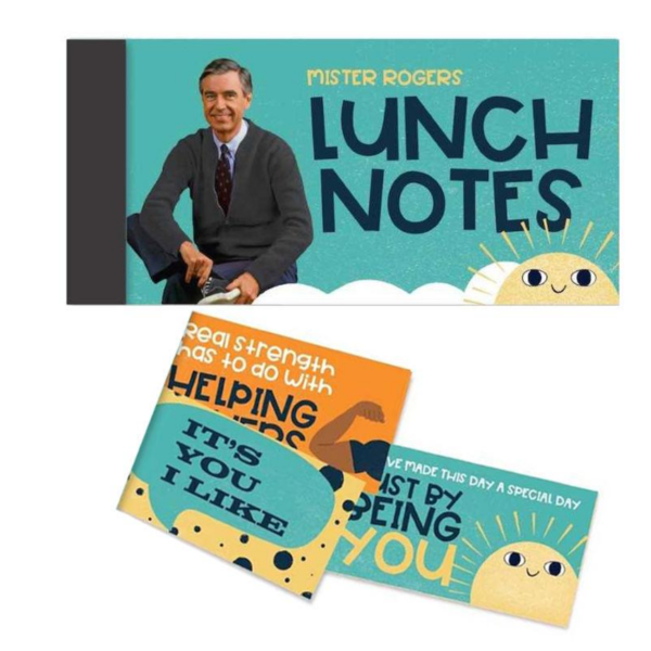 Papersalt Lunch Notes | Mister Rogers