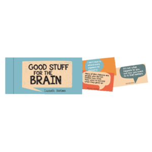 Papersalt Lunch Notes | Good Stuff For The Brain