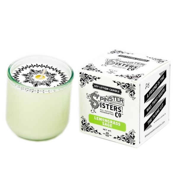Spinster Sisters Candle   Soy Lotion (Variety)