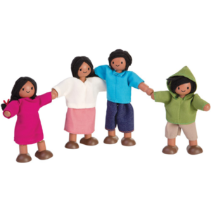 Plan Toys Doll Family | Mediterranean