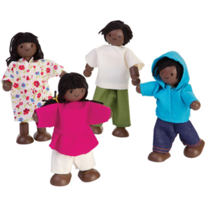 Plan Toys Doll Family   Afro-American