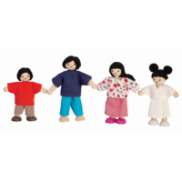 Plan Toys Doll Family | Asian