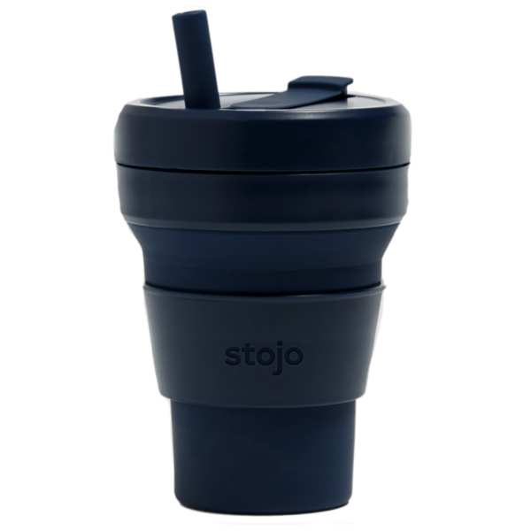 Stojo Collapsible Cup | 16oz | Denim