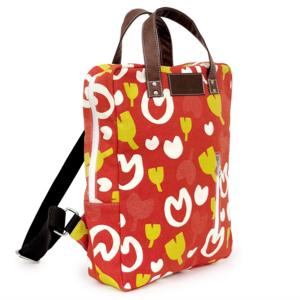 Maika Backpack   Zippered Lisse