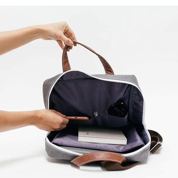 Maika Backpack | Zippered Half Moon Bay