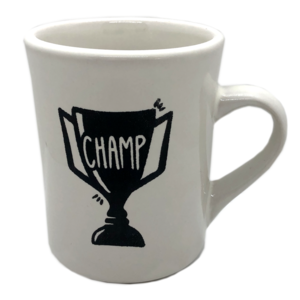 Ink & Etch Mug | Champ