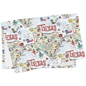 Fish Kiss Tea Towel | Texas Map