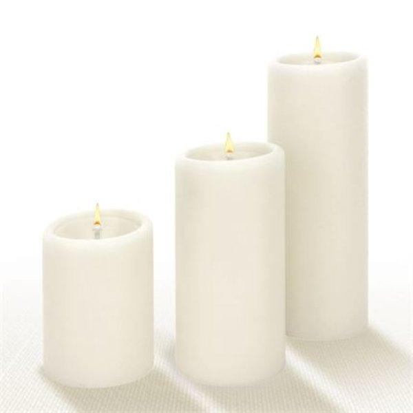 Lucid Candle Pillar Candle   3x8   Natural