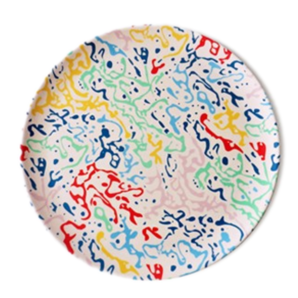 Xenia Taler Bamboo Plate | Single 8""