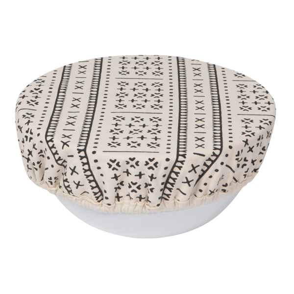 Now Designs Bowl Cover   Set of 2   Onyx