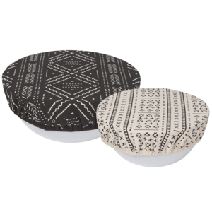 Now Designs Bowl Cover | Set of 2 | Onyx