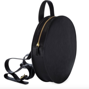 Round Backpack | Super Moon | Black