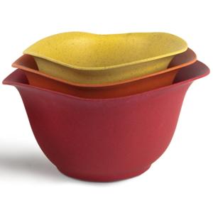 Architec Mixing Bowl Set | Purelast | Red to Yellow