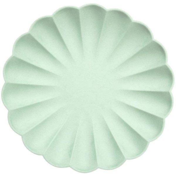 Plates | Simply Eco Mint | Large