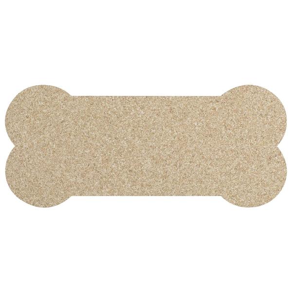 Petmat | Rubber Skinny Bone | Natural