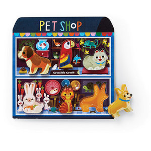 Wood Puzzle | 6pc | Pet Shop