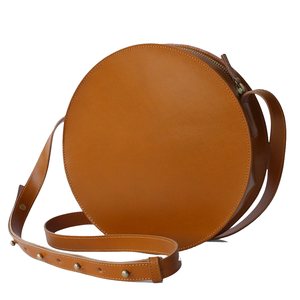 Circle Crossbody Bag | Full Moon | Maple
