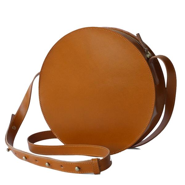Crossbody Bag | Circle | Maple