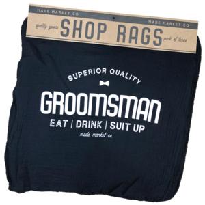 Made Market Co Shop Rag | Groomsman