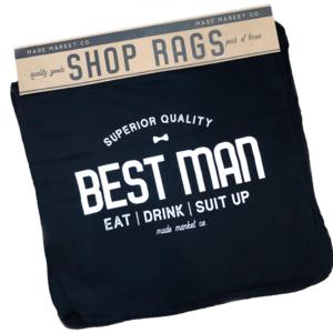Made Market Co Shop Rag   Best Man