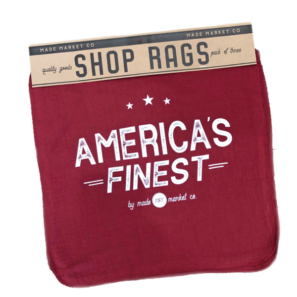 Made Market Shop Rag | America's Finest