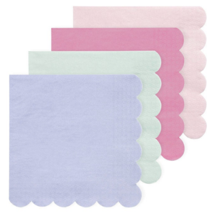 Meri Meri Napkins | Simply Eco | Multicolor | Small