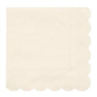 Meri Meri Napkins | Simply Eco | Cream | Small