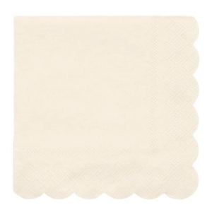 Meri Meri Napkins | Simply Eco | Cream | Small