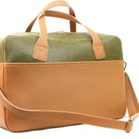 M.R.K.T. Briefcase | Frank | Olive Green