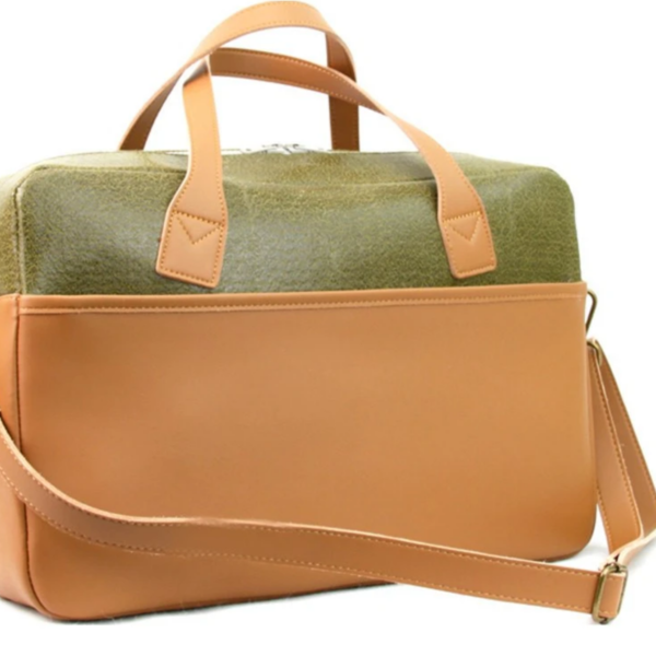 Briefcase | Frank | Olive Green