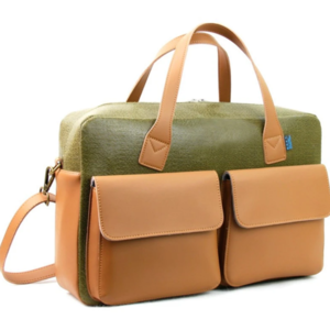 M.R.K.T. Briefcase | Frank | Olive Green