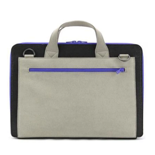 Laptop Brief | Frank | Black/Stone Grey