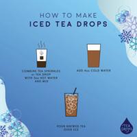 Tea Drops Tea Drops | Large Wood Box | Variety
