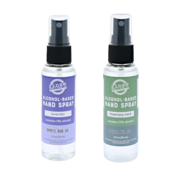 Rinse Bath & Body Hand Sanitizer | 2 Scents