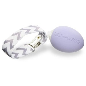 Teething Egg Teether | Egg | Lavender