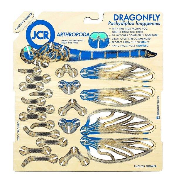 JCR Work Wood Figure | Dragonfly