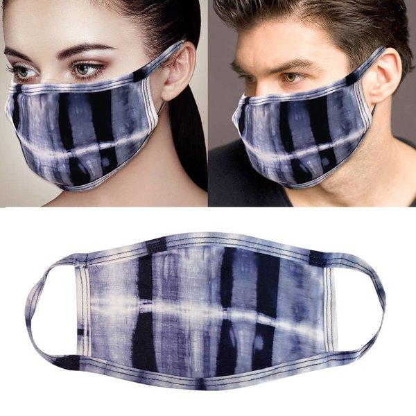RKAPPAREL Face Mask | Tie Dye Navy