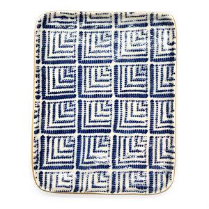 Terrafirma Ceramics Inc. Tidbit Tray | Deco Cobalt