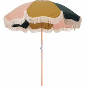 Business & Pleasure Beach Umbrella | 70s Panel Cinque