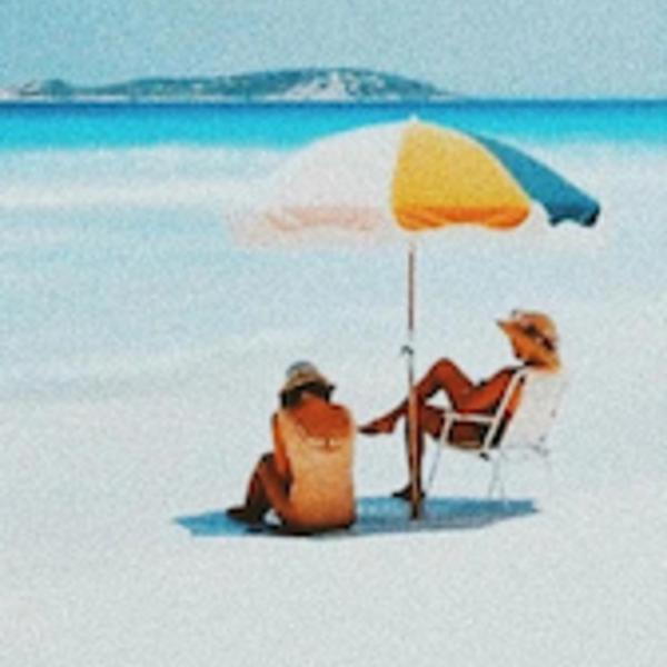 Beach Umbrella | 70s Panel Cinque
