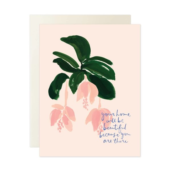 Card | Home Will Be Beautiful