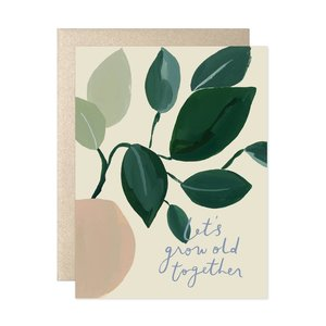 Card | Let's Grow Old Together