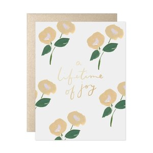 Card | A Lifetime of Joy