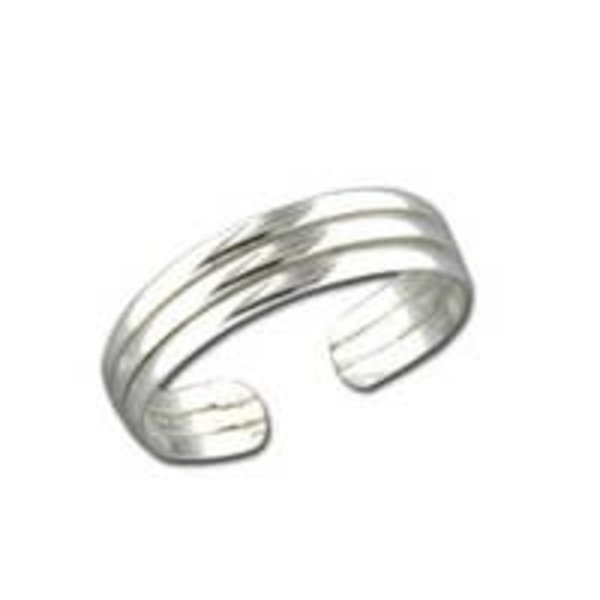Mark Steel Jewelry Toe Ring | Adjustable | Size 3