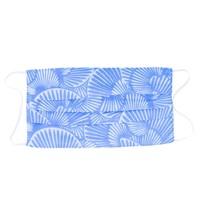 Poppy + Sage Face Mask | Seashell Belize Blue