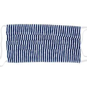 Poppy + Sage Face Mask | Nantucket Navy Stripe