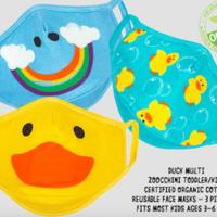 Zoocchini Child Mask   3-6 Years   3-Pack