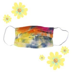 Face Mask + Filter Pocket | Tie Dye